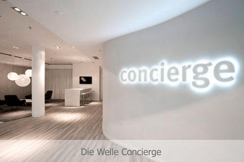 Die Welle Concierge Bereich