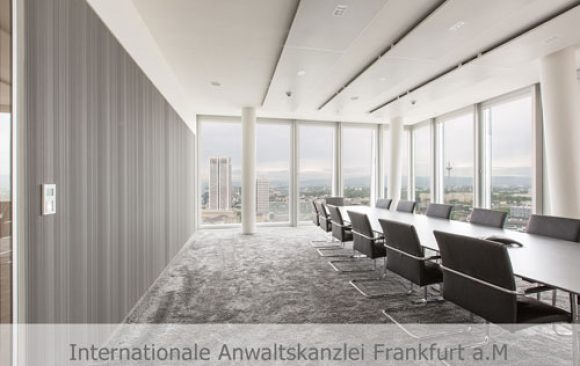 Internationale Anwaltskanzlei Frankfurt a. M.