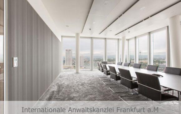 Internationale Anwaltskanzlei Frankfurt a. M.